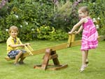 Wooden Seesaw